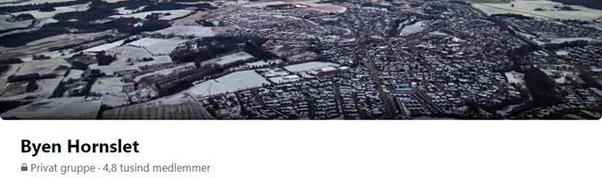 Byen Hornslet - Facebookside