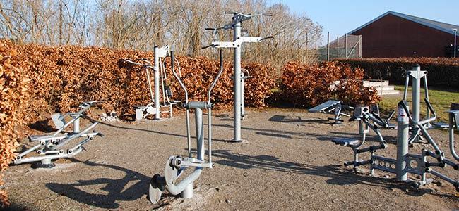 Gratis fitnessmaskiner ved Hornslet Hallen